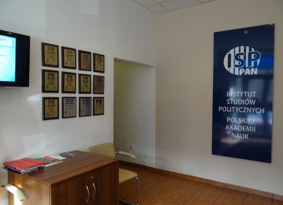 KLIO Prizes displayed on the wall